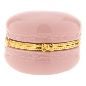 Light Pink Macaron Jewelry Box